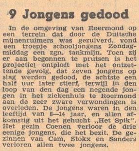 9-10-1945 Twentsche Courant