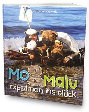Kinderbuch Mo & Malu, Anja Piffaretti, Photographiertes Kinderbuch