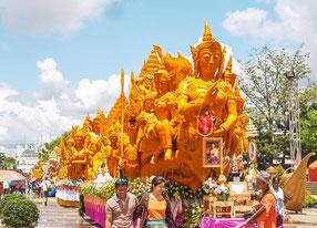 Ubon Ratchathani Kerzen Festival