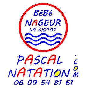 Cours de natation bébé nageur à La Ciotat avec Pascal Natation