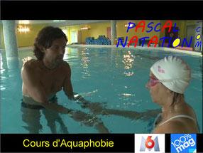 Aquaphobie pour adulte à la Ciotat avec Pascal Natation