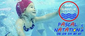 Bébé nageur avec Pascal Natation La Ciotat