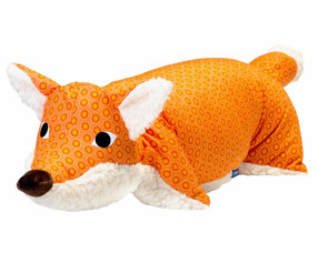 Tierkissen Fuchs orange-Teddy