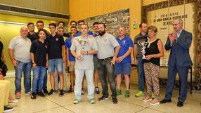 Premiazioni campionati giovanili