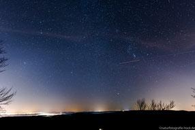 Sternenhimmel über dem Thüringer Wald