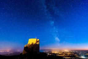 Milchstraße über dem Ucka-Gebirge - Istrien