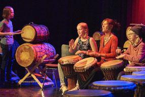 Westafrikanisches Trommeln Musikschule Musikuß e.V. Braunschweig