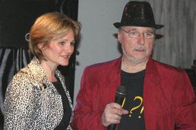 Audrey Werle mit Frank Richter