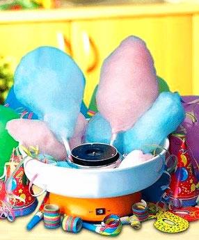 сладкая сахарная вата на детский праздник