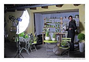 """making of..."" in Conny's Hof für Ostern 2010"
