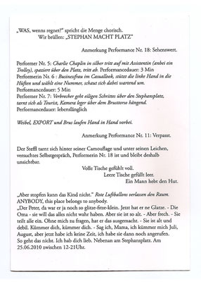"Postkarte ""Stephan macht platz"", 14,8 x 10,5cm"