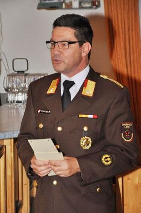 Abschnittskommandant Walter Stockner
