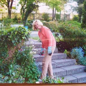 Ursula Steib liebte das Gärtnern