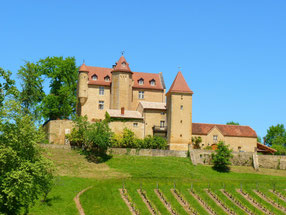 Hiking trail castle of Arricau-Bordes (Vic-Bilh/Madiran)