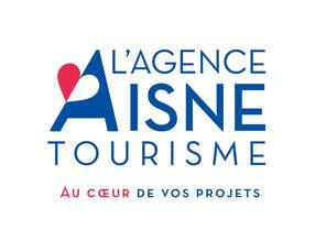 Site web réalisé avec l'Agence Aisne Tourisme
