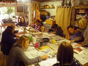 cours enfants chez Liane Briand à Jouy-en-Josas.