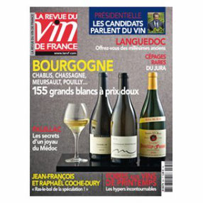 La Revue du Vin de France, Avril 2012.