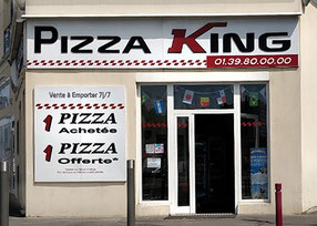 PIZZA KING - Pizzeria hallal Bezons