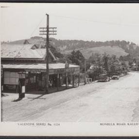 Kallista General Store, Monbulk Road 1920's