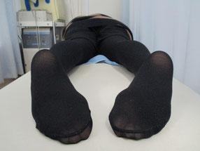 整体 骨盤矯正 猫背矯正 O脚矯正 八街市在住 女性 施術後 ②