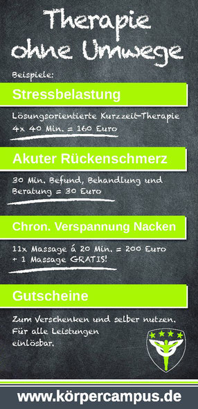 Physiotherapie Massage Tape Manuelle Therapie