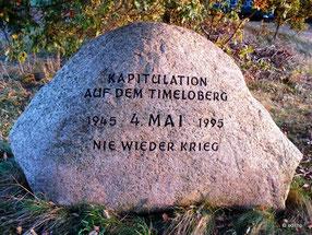 Gedenkstein am Timeloberg