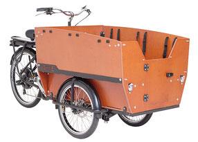 Babboe Lastenfahrrad mit Elektromotor Max-E