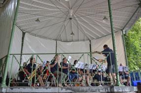 """Le groupe """"Muzik d'Augenies"""" en concert à Hautrage"""