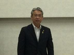 来賓として参加して頂いた清澤茂宏芦別市長