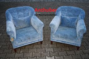 Bild: defekte und abgenutzte Sessel