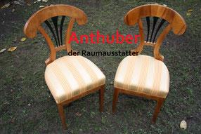 Bild: Stühle nach der Aufbereitung