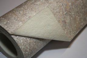 Bild heterogener PVC Boden