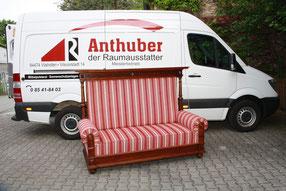 Bild: Couch nach der Restaurierung