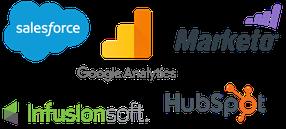 Plataformas de CRM logos