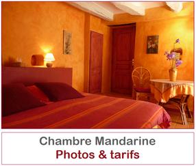 La chambre Mandarine