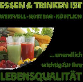 Kostbar Ernährungsberatung/ Essen und Trinken ist wertvoll, kostbar, köstlich...unendlich wichtig für Ihre Lebensqualität