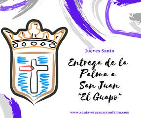 """Jueves Santo. Acceso al acto de la entrega de la Palma a San Juan """"El Guapo"""""""