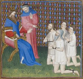 Source de l'image : Jacques Legrand, Livre des bonnes mœurs (Paris, BnF, ms. 1023).