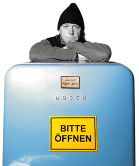 artblow - GEORG HIEBER: Lieben belebt - Der G'fühlschrank - Bosch - Kühlschrank