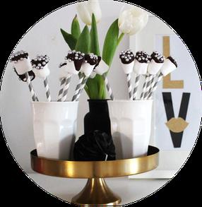 Bild: Marshmallow Pops Rezept, Alternative zu Cakepops, gefunden auf Partystories.de