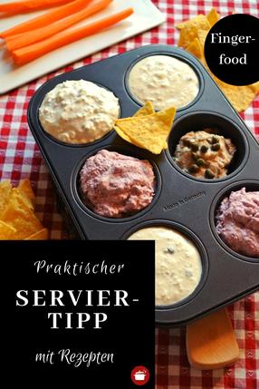 Serviertipp für Fingerfood - mit Rezepten