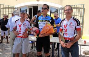 """Beau podium en """"5"""" avec G2J second et Bernard troisième"""