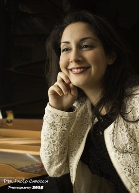 Annalisa Cocciolo -  Konzertpianistin, MA Klavier-Solist und BA Komposition (Foto © Pier Paolo Capoccia)