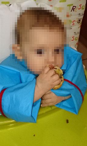 Blätterteig Blätterteigschnecken Dinkelstange Snack Unterwegs Rezept Rezepte BLW Baby Led Weaning Frühstück Abendbrot Mittagessen einfrieren kochen