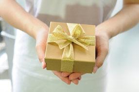 Geschenk zum Namenstag