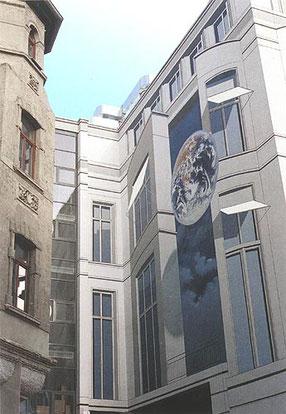 Gert Neuhaus Wandbild/Mural Jena