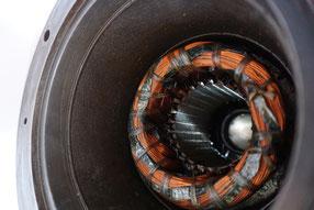 Pumpenmotor neu gewickelt von einer Tauchpumpe