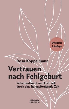 "book cover ""Vertrauen nach Fehlgeburt"" (""Back to confidence after a miscarriage"")"
