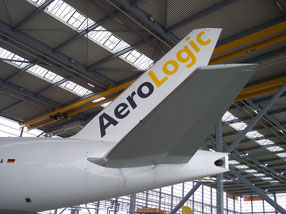 Leipzig is home of freight carrier AeroLogic's fleet of 8 Boeing 777Fs