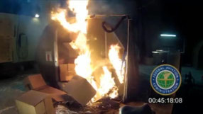 FAA tests show lithium-ion batteries can cause fierce explosions  /  source: FAA